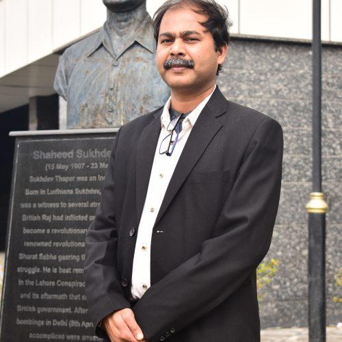 Dr. (Mr.) Rishi Rajan Sahay, Ph.D.